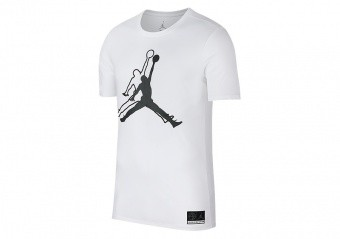 NIKE AIR JORDAN SPORTSWEAR JUMPMAN HE GOT GAME TEE WHITE