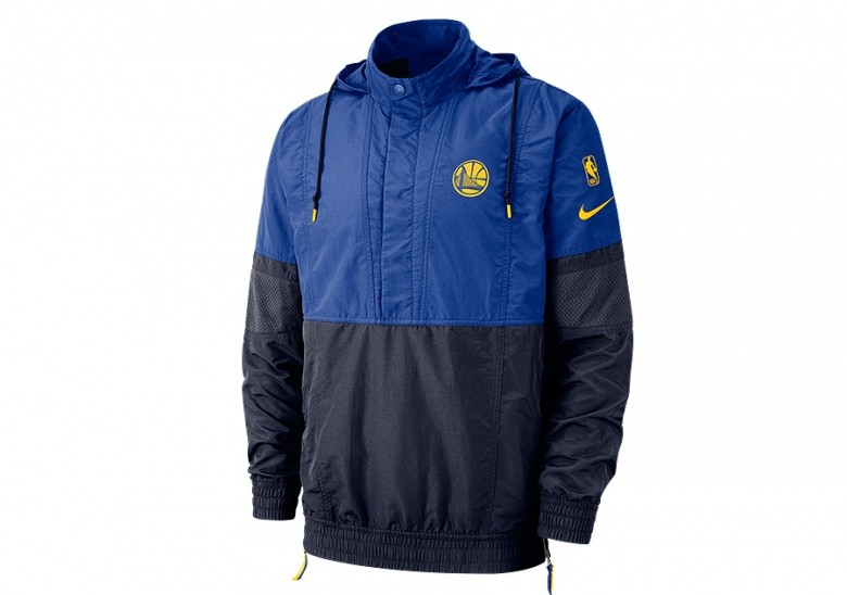 9a66b41f644 NIKE NBA GOLDEN STATE WARRIORS COURTSIDE JACKET COURTSIDE RUSH BLUE ...