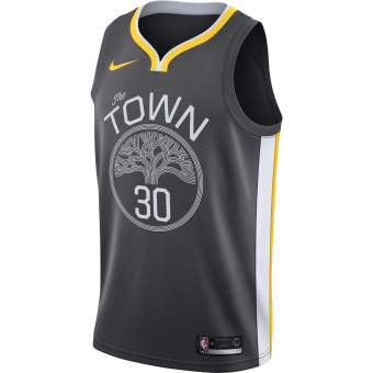 NIKE NBA GOLDEN STATE WARRIORS STEPHEN CURRY SWINGMAN JERSEY