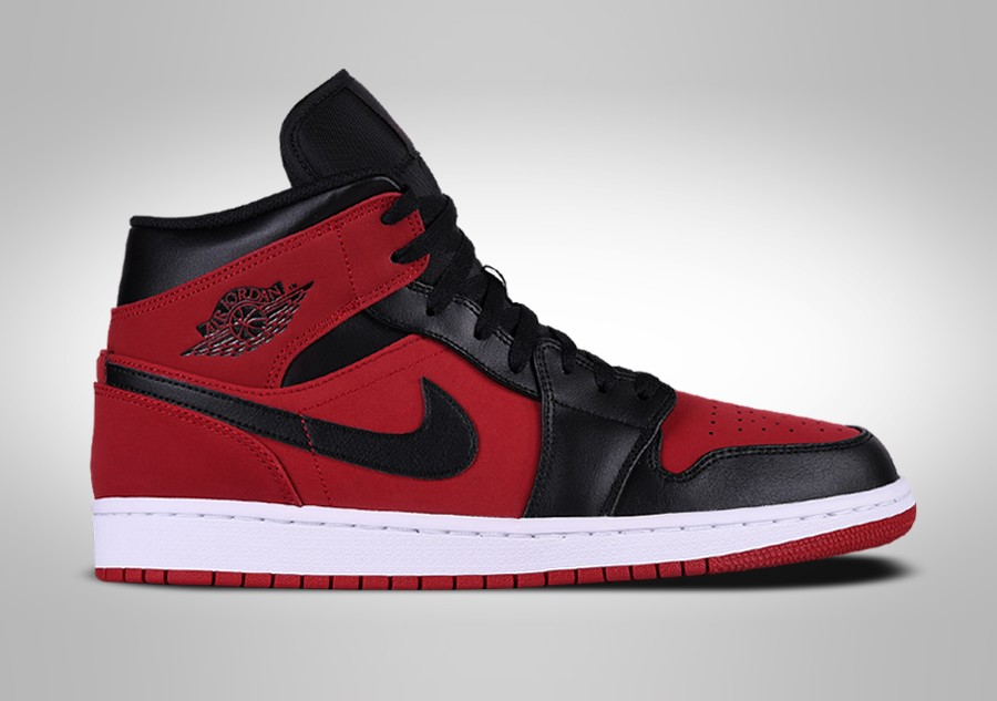 buy popular 03dd3 a515c NIKE AIR JORDAN 1 RETRO MID BANNED pour €109,00 | Basketzone.net