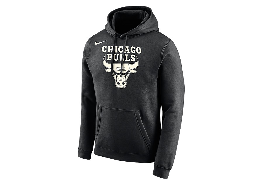 f1d63468d469 NIKE NBA CHICAGO BULLS LOGO HOODIE BLACK price €62.50