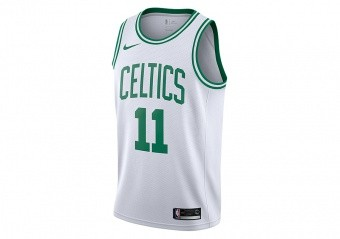 NIKE NBA BOSTON CELTICS KYRIE IRVING SWINGMAN HOME JERSEY WHITE