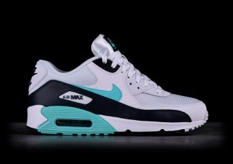 NIKE AIR MAX 90 ESSENTIAL OBSIDIAN AND AURORA