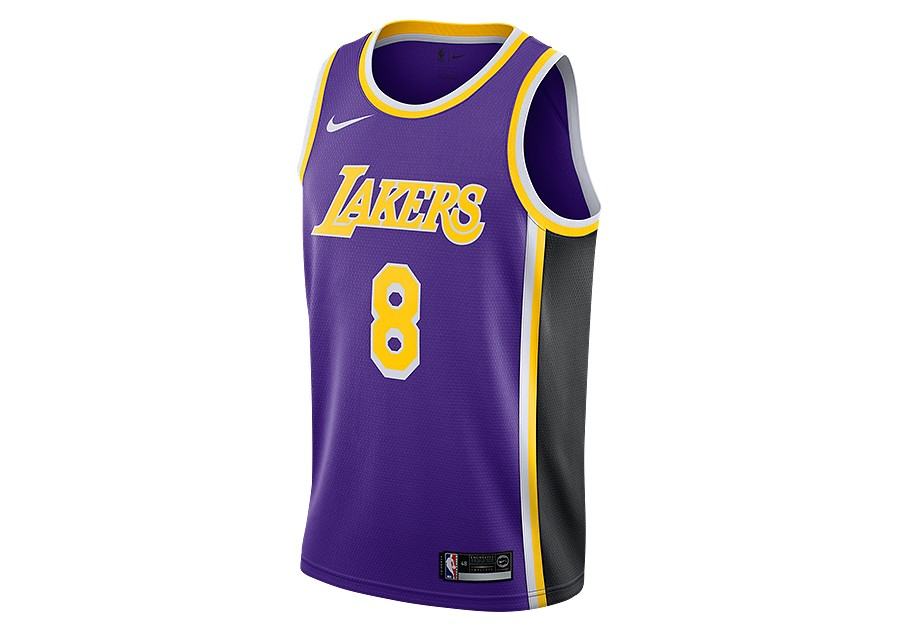 3dc68202422 NIKE NBA LOS ANGELES LAKERS KOBE BRYANT SWINGMAN JERSEY FIELD PURPLE per  €92