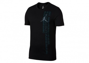 NIKE AIR JORDAN JSW GREATEST S/S TEE BLACK
