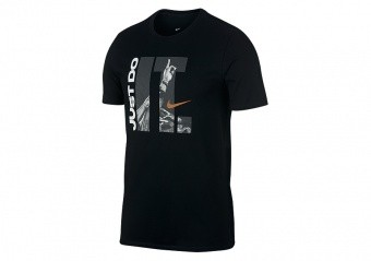 NIKE JUST DO IT DRY TEE BLACK