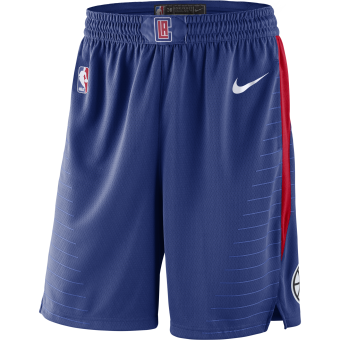 NIKE NBA LOS ANGELES CLIPPERS SWINGMAN ROAD SHORTS