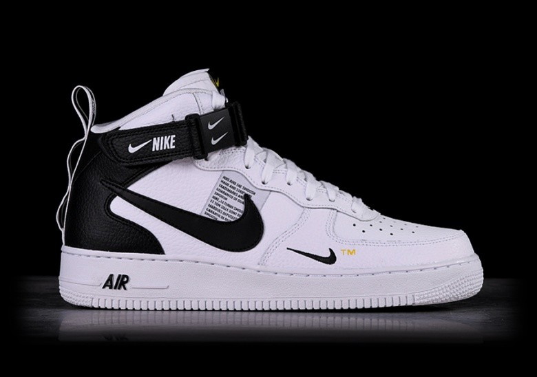 low priced d7ff1 baa35 NIKE AIR FORCE 1 MID  07 LV8 UTILITY WHITE