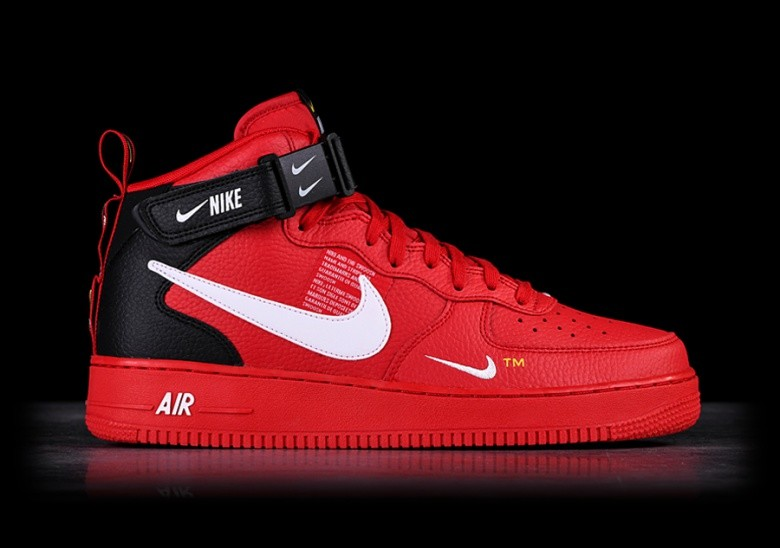Nike Air Force 1 Mid 07 Lv8 Utility Red Price 127 50 Basketzone Net