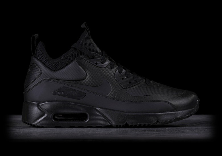 free shipping ea28d a60cb NIKE AIR MAX 90 ULTRA MID WINTER BLACK pour €157,50 | Basketzone.net