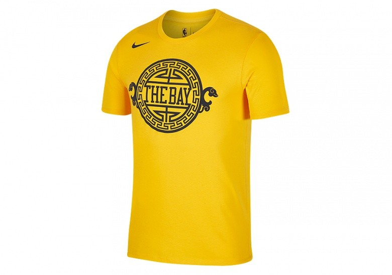 Golden State University >> Nike Nba Golden State Warriors Dry Tee University Gold
