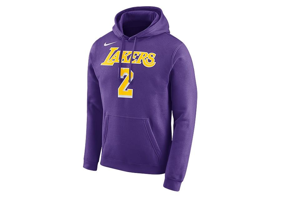 8ae0aa207 NIKE NBA LOS ANGELES LAKERS LONZO BALL HOODIE FIELD PURPLE per €65 ...