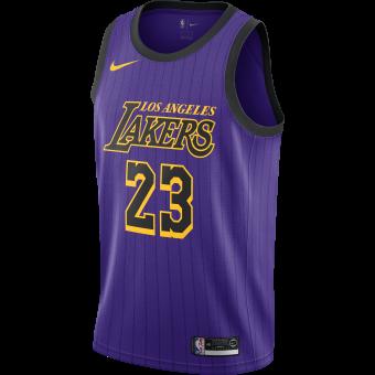 e68b1ba89a40c NIKE NBA LOS ANGELES LAKERS LEBRON JAMES SWINGMAN JERSEY