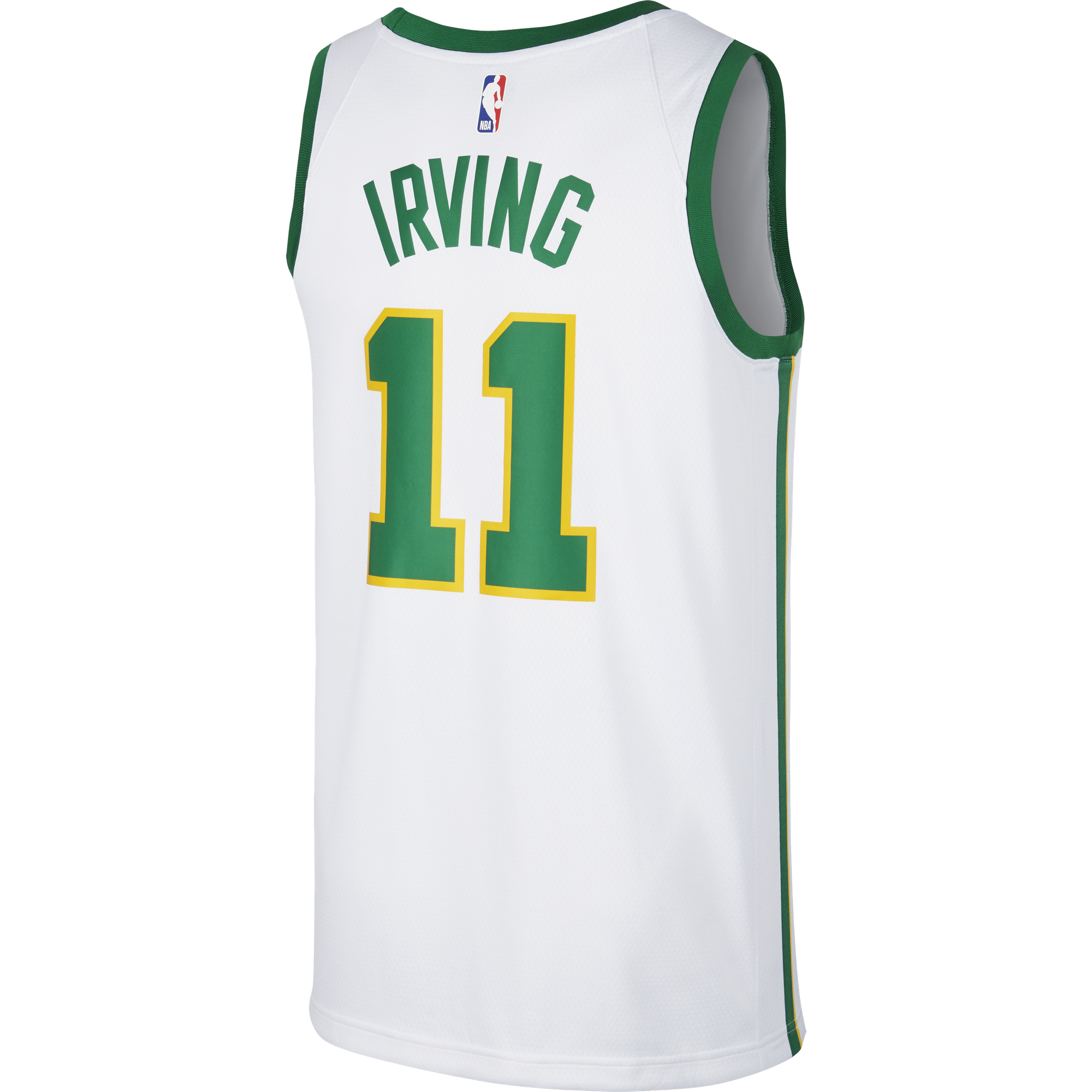 info for b6d8a 67350 NIKE NBA BOSTON CELTICS KYRIE IRVING SWINGMAN JERSEY for ...