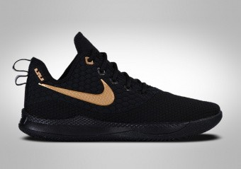 official photos 3490e 37d52 BASKETBALL SHOES. NIKE LEBRON WITNESS III BLACK METALLIC GOLD