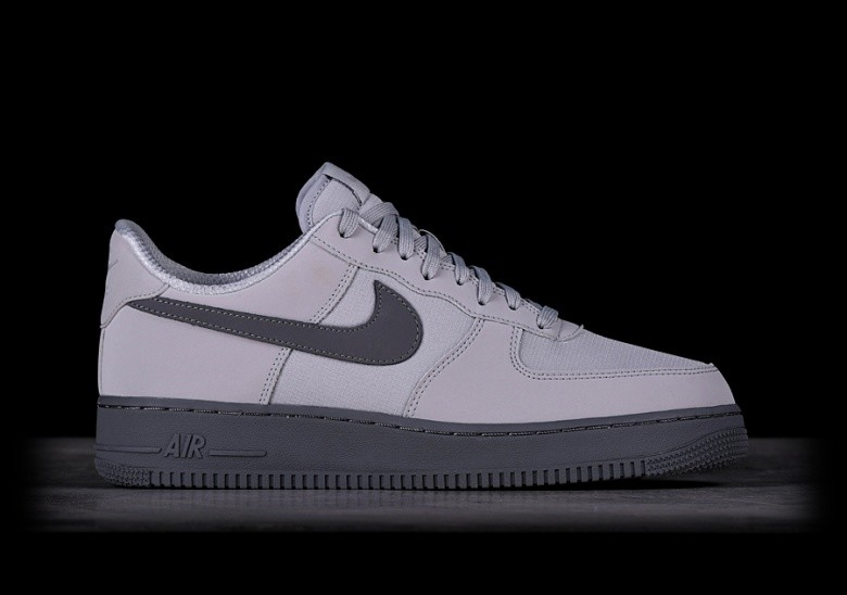 new style caaa3 ab67c NIKE AIR FORCE 1 07 TXT WOLF GREY