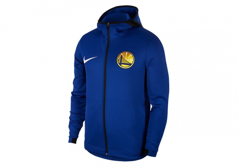 NIKE NBA GOLDEN STATE WARRIORS THERMAFLEX SHOWTIME HOODIE