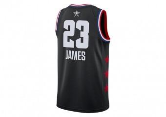 fb09f3e9cf10 T-SHIRTS. NIKE AIR JORDAN NBA ALL STAR WEEKEND 2019 LEBRON JAMES SWINGMAN JERSEY  BLACK