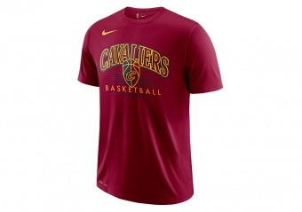 NIKE NBA CLEVELAND CAVALIERS DRY TEE TEAM RED