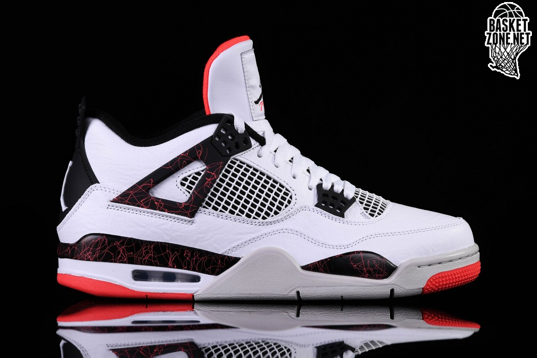 best loved 03bac bf4d0 NIKE AIR JORDAN 4 RETRO HOT LAVA