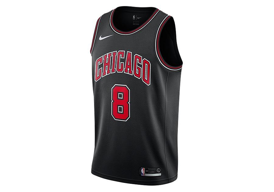 online retailer 26e23 a5e8b NIKE NBA CHICAGO BULLS ZACH LAVINE STATEMENT EDITION SWINGMAN JERSEY BLACK  per €77,50   Basketzone.net