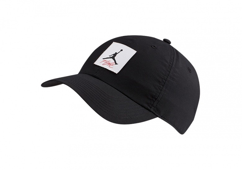 NIKE AIR JORDAN HERITAGE86 LEGACY FLIGHT HAT BLACK