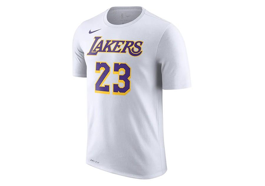 748c10fe2e4 NIKE NBA LOS ANGELES LAKERS LEBRON JAMES DRY TEE WHITE per €32