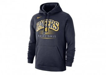NIKE NBA INDIANA PACERS CREST HOODY COLLEGE NAVY