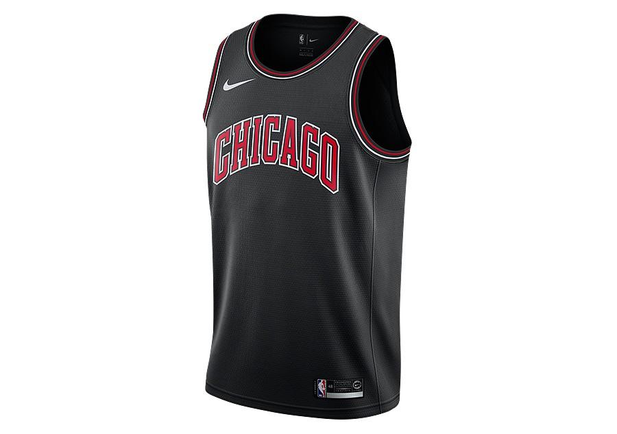 buy online 09bb6 55cbe NIKE NBA CHICAGO BULLS SWINGMAN JERSEY BLACK per €75,00 ...