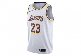 0b628cd48682 T-SHIRTS. NIKE NBA LOS ANGELES LAKERS LEBRON JAMES SWINGMAN ...