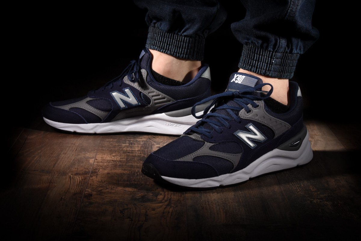 new balance x90 black