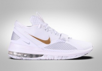 NIKE AIR FORCE MAX LOW WHITE GOLD