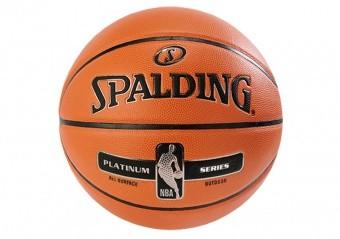 SPALDING NBA PLATINUM STREETBALL OUTDOOR (SIZE 7) ORANGE