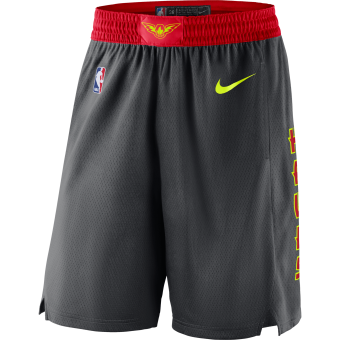 NIKE NBA ATLANTA HAWKS SWINGMAN ROAD SHORTS