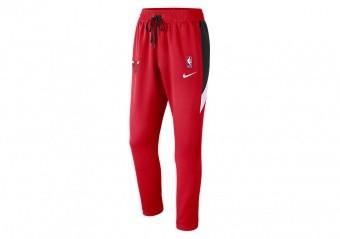 NIKE NBA CHICAGO BULLS THERMAFLEX SHOWTIME PANTS UNIVERSITY RED