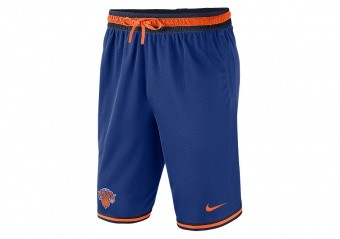 NIKE NBA NEW YORK KNICKS SHORTS RUSH BLUE