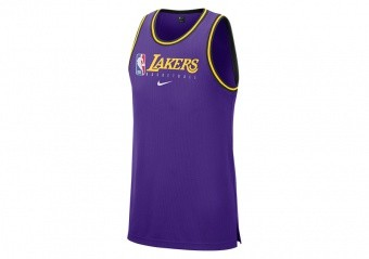 NIKE NBA LOS ANGELES LAKERS Dri-FIT TANK FIELD PURPLE