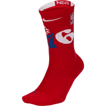 NIKE NBA PHILADELPHIA 76ERS NIKE ELITE SOCKS
