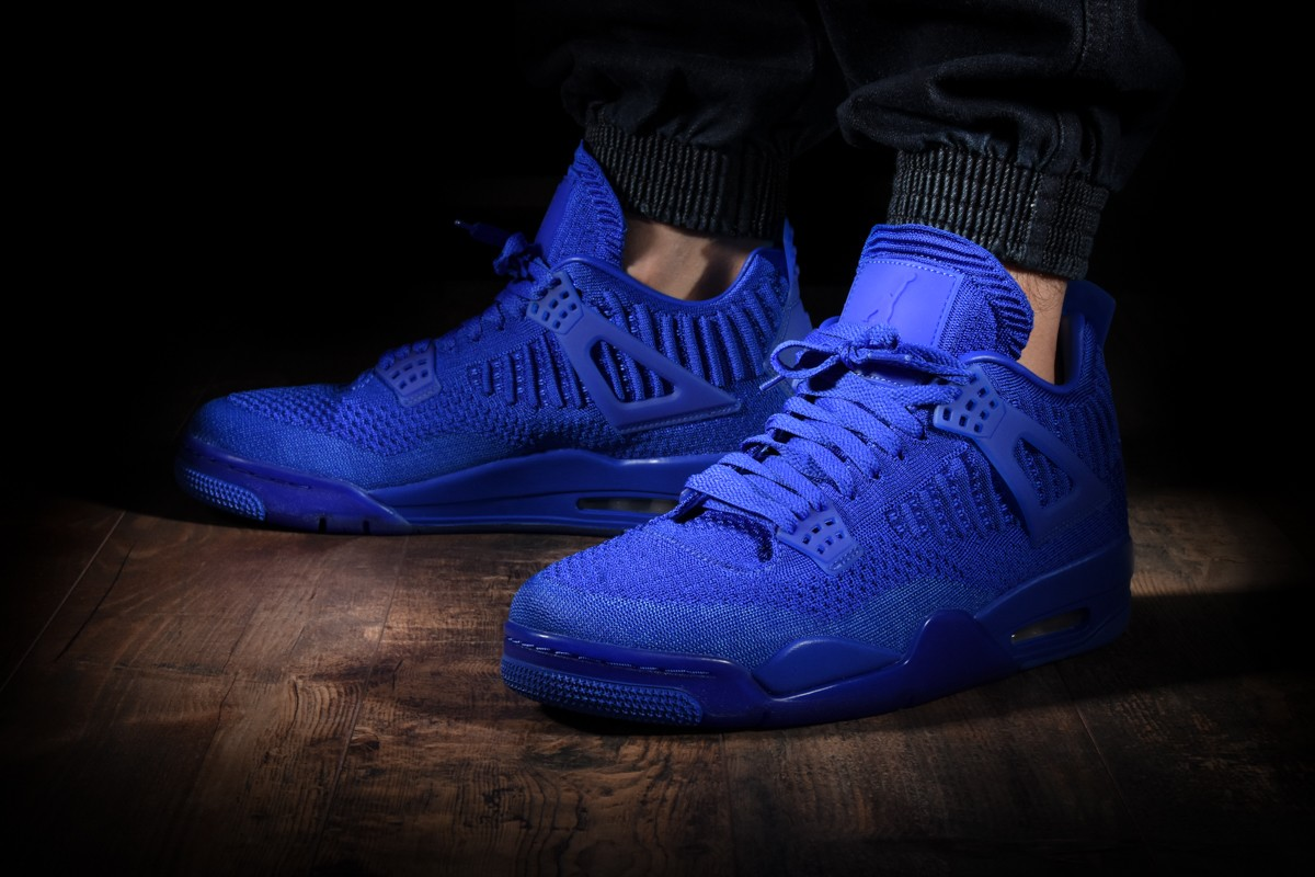 air jordan 4 retro flyknit