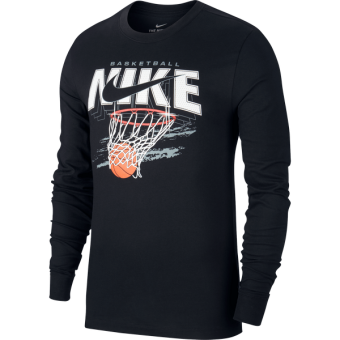 NIKE DRI-FIT TEE SWISH LONG SLEEVE BASKETBALL TEE