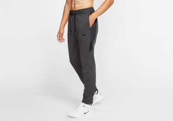 NIKE THERMA WINTERIZED BASKETBALL PANTS ANTHRACITE