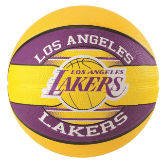 SPALDING NBA TEAM L.A LAKERS SIZE 5