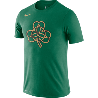 NIKE NBA CELTICS CITY EDITION LOGO SS TEE