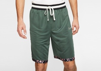 NIKE IN BLOOM DNA DRI-FIT SHORTS GALACTIC JADE