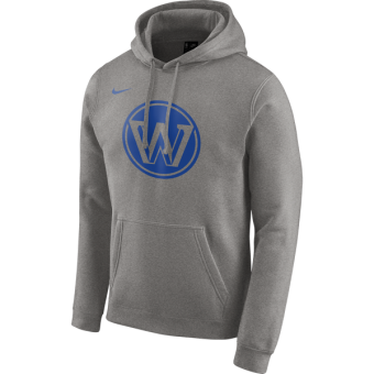 NIKE NBA GOLDEN STATE WARRIORS LOGO FLEECE HOODIE