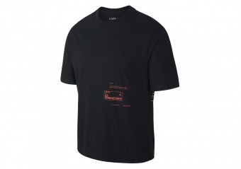 NIKE AIR JORDAN 23 ENGINEERED CREW TEE BLACK