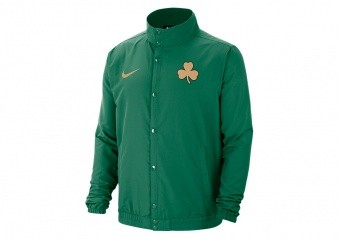NIKE NBA BOSTON CELTICS CITY EDITION JACKET CLOVER