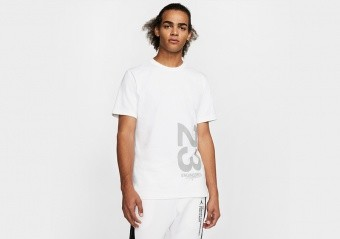 NIKE AIR JORDAN 23 ENGINEERED CREW TEE WHITE