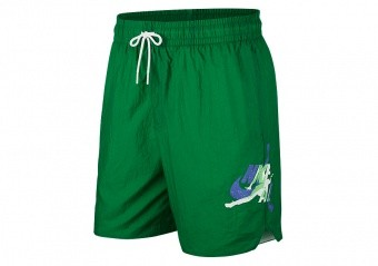 NIKE AIR JORDAN JUMPMAN POOLSIDE 7' SHORTS ALOE VERDE