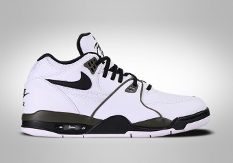 NIKE AIR FLIGHT '89 RETRO WHITE BLACK OLIVE